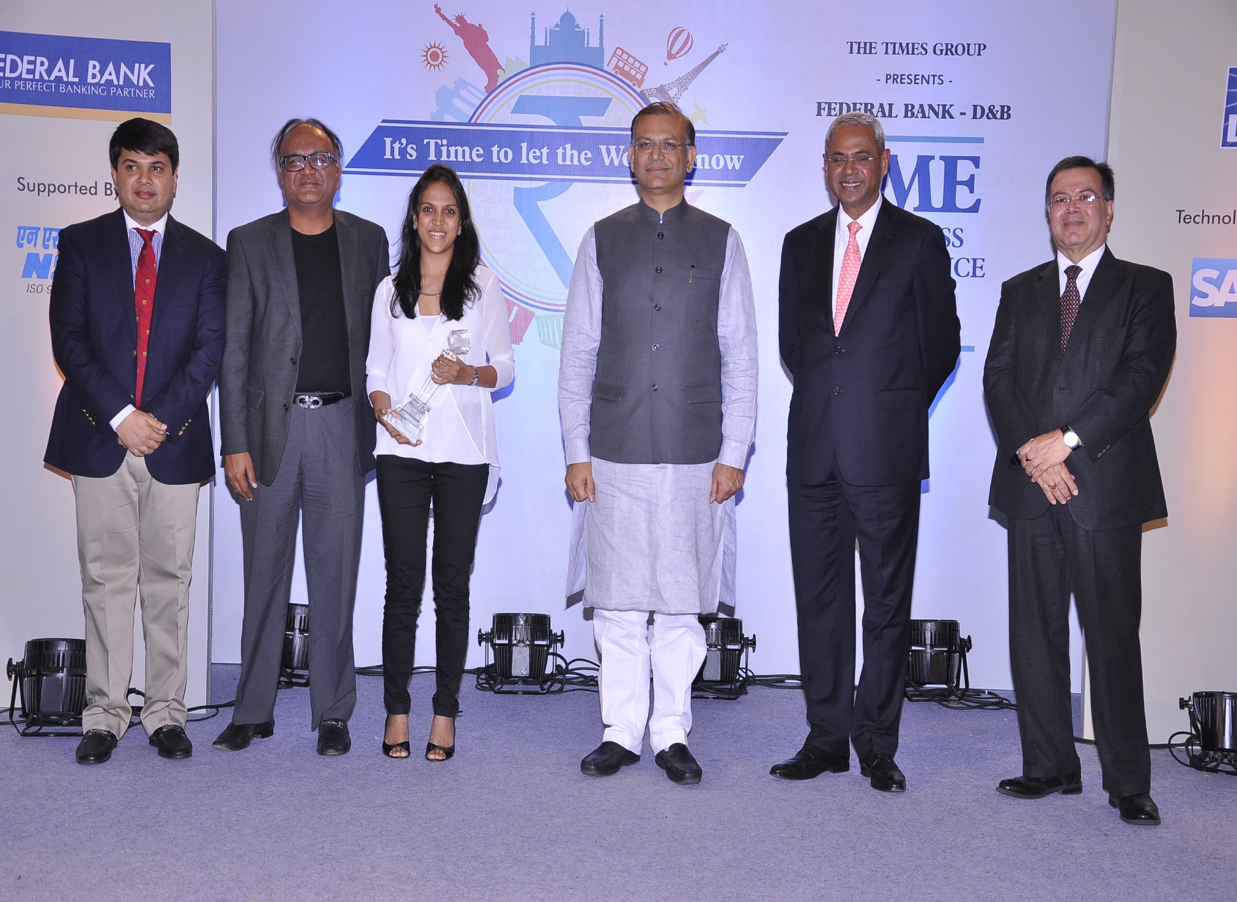 Sarla fibers-Business Excellence Award